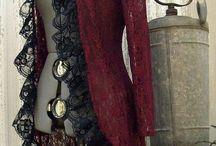 trajes victorianos