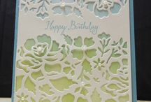 Stampin' Up! - Floral Thinlits / Stampin' up stamp set and card design