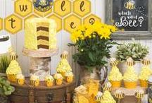 Bee Party Ideas / Honey Bee, Bee birthday party, Bee-YOU-tiful, Happy Bee Day.