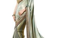 Charming Collection of Shimmer Sarees / Charming Collection of Shimmer Sarees only at http://bit.ly/1TAFnmz