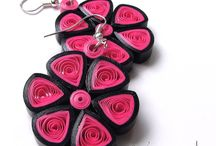 Quilling/paper jewelry