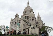 Bazylika Sacre Coeur / Bazylika Sacre Coeur to wizytówka Paryża, nierozerwalnie związana z Miastem Świateł. Zobacz ciekawe informacje o zabytku na: http://zwiedzamyparyz.pl/zabytki-paryza/bazylika-sacre-coeur
