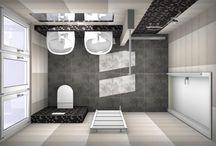 3D badkamer ontwerpen / Iedere dag worden er door bezoekers van onze website en door adviseurs in onze showroom veel badkamer ontwerpen gemaakt. Hier vind je een selectie van deze badkamer ontwerpen. Wil je zelf je badkamer ontwerpen in 3D? Kijk dan op onze website www.vanwanrooij-warenhuys.nl