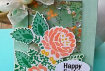 Spring and Summer Cards / This creation was created using the Spring and Summer Celebrations stamp set http://acreativejourneywithmelissa.com/