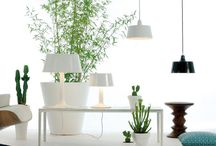 One Collection / ONE A complete series of suspension, wall light and two measures of table lamp, totally made of Manises's Ceramics (Valencia) and finished in White or Black.