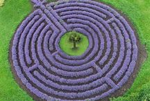 Labyrinth / This ancient design is symbolic of entering the unknown and journeying to the truth of oneself at the core of being. Unlike the maze, a puzzle that is designed to confuse and hinder progress, there is one clear pathway to the centre of a labyrinth, and a clear pathway out. It is impossible to get lost.