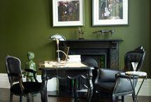 INTERIORS: OLIVE GREEN / Interior Trend