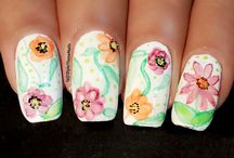StyleThoseNails-Water Color Nails