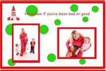 "Christmas Cards / The ""real"" Elf on the Shelf #elfontheshelf / by Kathy Wojtila"