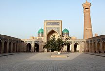 Uzbekistan / Uzbekistan is a Central Asian nation and former Soviet republic. It's known for its mosques, mausoleums and other sites linked to the Silk Road, the ancient trade route between China and the Mediterranean.  Bukhara - an ancient city in the central Asian country of Uzbekistan.