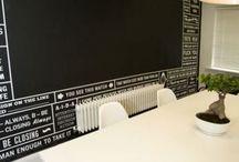 Blackboards / Beautiful blackboard layout and illustration.