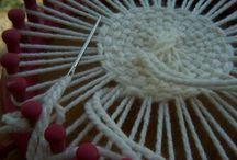 pletení na kruhu - knitting loom