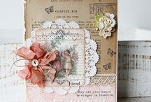 Cards: Shabby Chic and Vintage