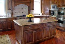 Kitchen designs / by Pam Schaitel Brady