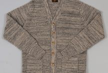 FASHION ABLE: Cardigan Sweater / Grandpa sweater, big, bulky wool sweater, menswear worn by women, menswear worn by men, wrapping up and keeping the chill at bay. / by Ria Runkee