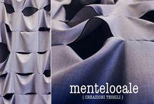 Mentelocale CREATIVE COLLECTION / Linea personalizzata.  Tutto SU MISURA, quasi sempre sono tendaggi, o copriletti, dove tutto è su progettazione. Si realizzano prototipi, si fanno accostamenti di tessuti si scelgono i colori seguendo i gusti e lo stile della VOSTRA dimora.
