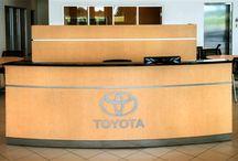 CREST Furniture Reception Desks