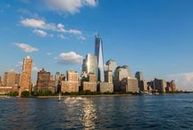 City Views / NYC views from our Yacht