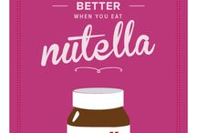 nutella and other sweets