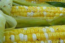 Grilled Corn on a Cob