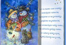 V.- vánoční přáni