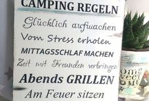 Camping / Schild