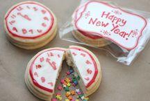 Gâteaux du nouvel an