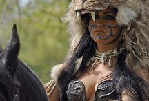 The Warrior in Me / Female warriors and Swordbearers