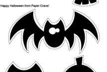 Halloween paper crafts / Halloween Printables, creepy things to make for my halloween tree, the weird, the odd and the colorful, paper dolls, cards, masks, treat boxes, / by Bobbi Yanson