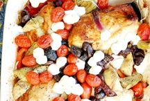 Recipes / Mediterranean Baked Chicken