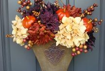 fall decore / by Maggie Larimer