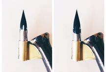 calligraphy nib & oblique pen