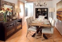 Coleccion Kitui / Colección vintage de muebles realizada en madera de olmo reciclada combinada con hierro. Telas de algodón 100%