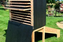 Food dryer, solar powered