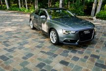 Driveway Ideas / A perfect pairing of fashion and function, a paver driveway shapes the dramatic welcome home you want.