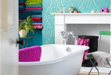 Bathroom design ideas / by Andraea Smith