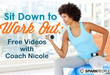 Spark People Chair Workouts