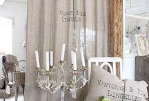shabby curtains