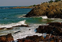 """Beautiful Ogunquit, ME / Ogunquit means """"beautiful place by the sea"""""""