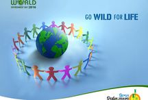 """World Environment Day / We won't have a society if we destroy the environment.  """"One World, One Environment"""""""