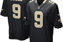 Drew Brees Black Jersey - Women's & Youth & Men's - Authentic Saints Jersey