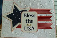 Card For 4th of July & USA / by Melissa Borror