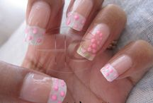 Breast Cancer Awareness Nailart / Nail art That I made in past to support the Cause
