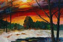 Obras de Arte / Pintura em tela / by Merci Pires