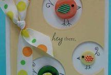 scrapebooking baby cards