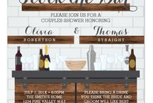Bar Themed Wedding
