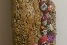 Cuadro Piedras Pintadas