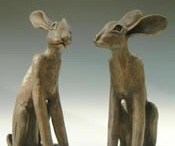 Hare Sculptures
