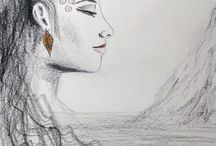 Francesca Santoro / My work: drawings, illustrations, sketches, digital works and paintings