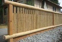 cercas de bambu